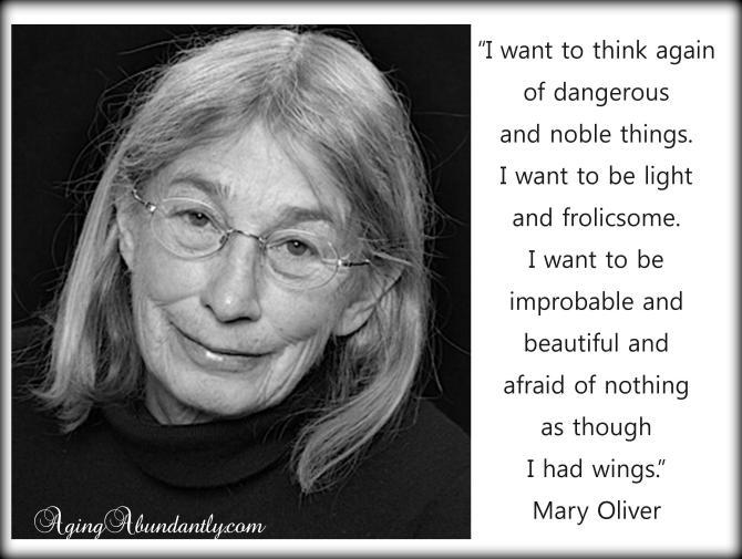 Poet Mary Olver