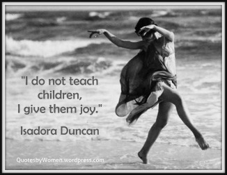 Isadora Duncan American